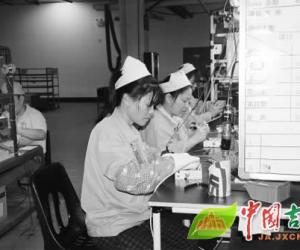 友利电电子(江西)有限公司生产车间