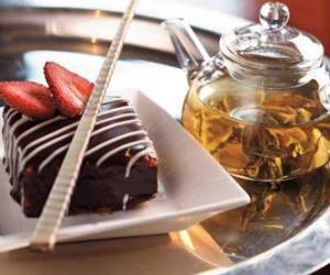 桃色下午茶与茶点的美妙搭配(组图)
