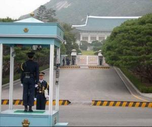 韩国总统府里的美景与御宴