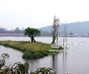 吉安庐陵文化生态公园湖光山色美不胜收